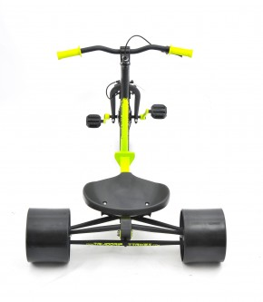 18inch triad trike green-back