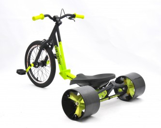 18inch triad trike green-rear 45